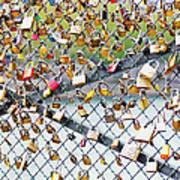 Paris - Locks Of Love Poster