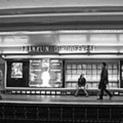 Paris Metro - Franklin Roosevelt Station Poster