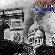Paris Montage 2 Poster