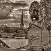 Paris Panorama Poster