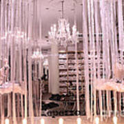 Paris Repetto Ballerina Tutu Shop - Paris Ballerina Dresses Window Display  Poster