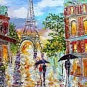 Paris Romance Poster