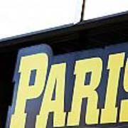 Paris Sign Poster