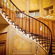 Paris Staircase Poster