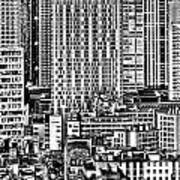 Paris Urban Poster