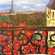 Paris View Poster