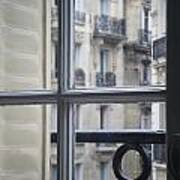 Paris Window Poster