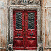 Parisian Door No.82 Poster