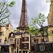 Parisian Icon Poster