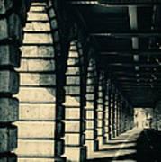 Parisian Rail Arches Poster