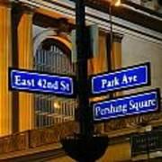 Park Avenue Poster