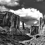 Park Avenue In Arches National Park Poster