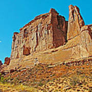 Park Avenue In Arches National Park-utah Poster