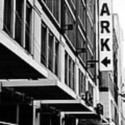 Park... Bw... Detroit Poster