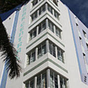 Park Central Building - Miami Poster
