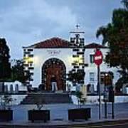 Parraquia De San Amaro. Puerto De La Cruz By Night Poster