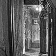 Passageway At Fonthill Castle Poster
