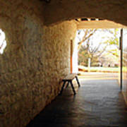 Passageway At Monticello Poster