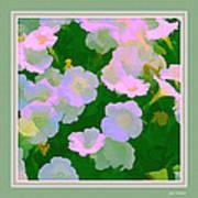 Pastel Flowers II Poster