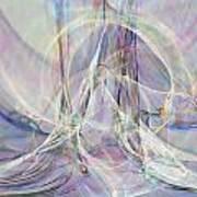 Pastel Fractal Poster