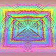 Pastel Rainbow Reverberations Poster