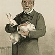Pasteur's Rabies Vaccine Research, 1880s Poster by Science Photo Library