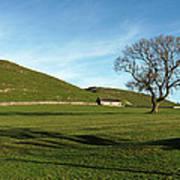Pasture Land At Thorpe - Derbyshire Poster
