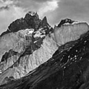 Patagonian Mountains Poster