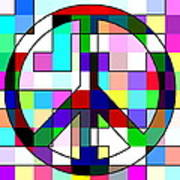 Patch Peace Poster