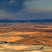 Patched Palouse Poster
