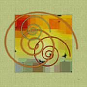 Patchwork II Poster by Ben and Raisa Gertsberg