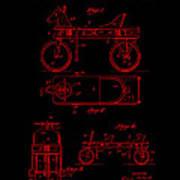 Patent Art 1920 Herzog Hobby Horse Red Poster