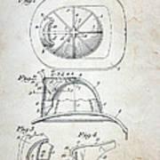 Patent - Fire Helmet Poster