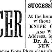 Patent Medicine, 1876 Poster