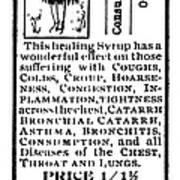 Patent Medicine, C1900 Poster