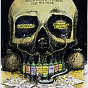 Patent Medicine Cartoon Poster