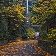 Path To Multnomah Falls Poster