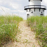 Path To The Lighthouse Poster