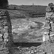 Path To The War Memorial Poster
