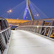 Path To The Zakim Bridge Poster