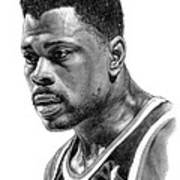 Patrick Ewing Poster by Harry West