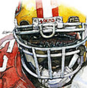 Patrick Willis - Force Poster by Michael  Pattison