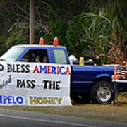 Patriotic Honey Salesman Poster