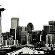Patriotic Seattle Poster