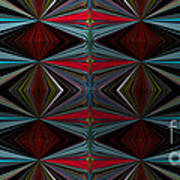Patterned Abstract 2 Poster