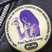 Patti Smith '79 Poster