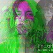 Patti Smith Dancing Barefoot Poster
