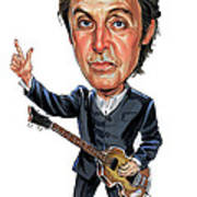 Paul Mccartney Poster by Art