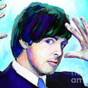 Paul Mccartney Of The Beatles Poster by GCannon