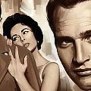 Paul Newman Artwork 2 Poster